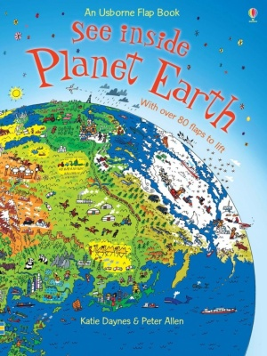 Usborne See Inside Planet Earth (Hardback Book)